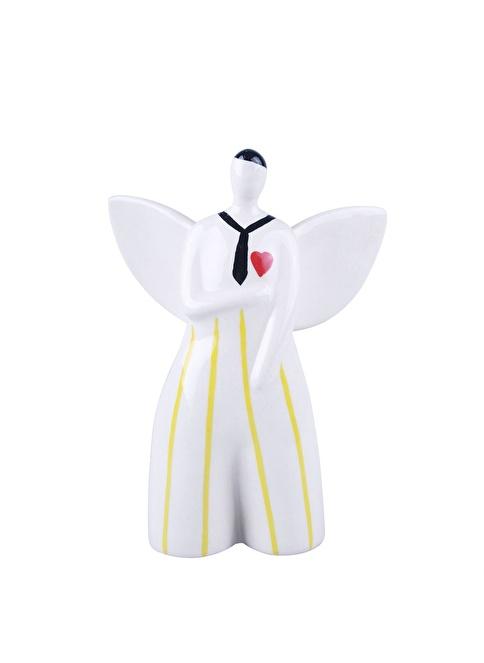 Dekorazon Love Angel Boy Dekoratif Obje Renkli